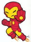 Chibi-Iron Man.