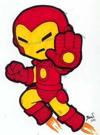 Chibi-Iron Man. by hedbonstudios on DeviantArt