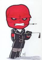 Chibi-Red Skull.