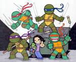 Chibi-Ninja Turtles.