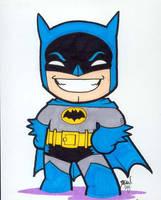 Chibi-Batman 3. by hedbonstudios