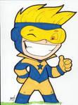 Chibi-Booster Gold.