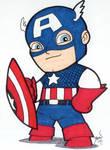 Chibi-Captain America.