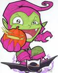 Chibi-Green Goblin 2.