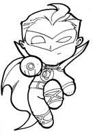 Chibi-G.A. Green Lantern. by hedbonstudios