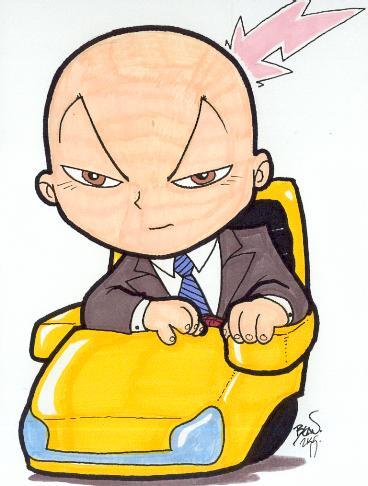 Chibi-Professor X.