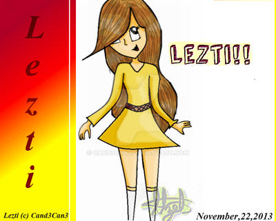 lezti Human digital by CaNd3CaN3