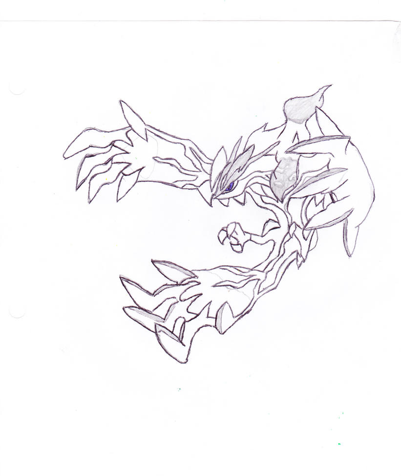 The gallery for pokemon xerneas coloring pages for Pokemon yveltal coloring pages