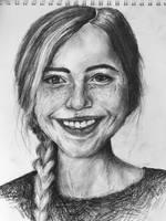 Portrait of a Girl by EmilyApril
