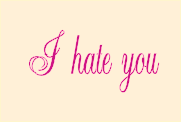 I Hate you T-shirt by godemperorofhell on DeviantArt