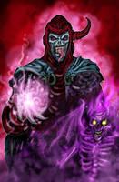 Venger and the Shadow Demon by Black-God-Chernabog