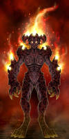 Lava Demoness