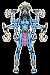 Kali (using my YCH (female)) by Evil-God-Chernabog