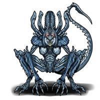 Space monster (Art Trade)