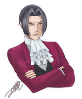 Piqued Edgeworth by StarWolf597