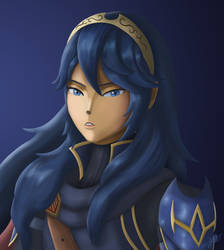 Lucina ~ Portrait by StarWolf597