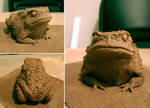 Toad Sculpture