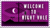 Welcome to Night Vale Stamp by SpoonyMacks