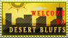 Welcome to Desert Bluffs Stamp by SpoonyMacks