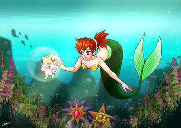 Little Mermaid Misty by Nellyel