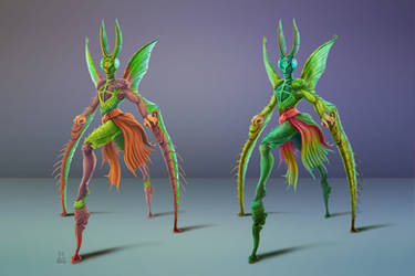 Mantis Harlequin by TopotoonPun
