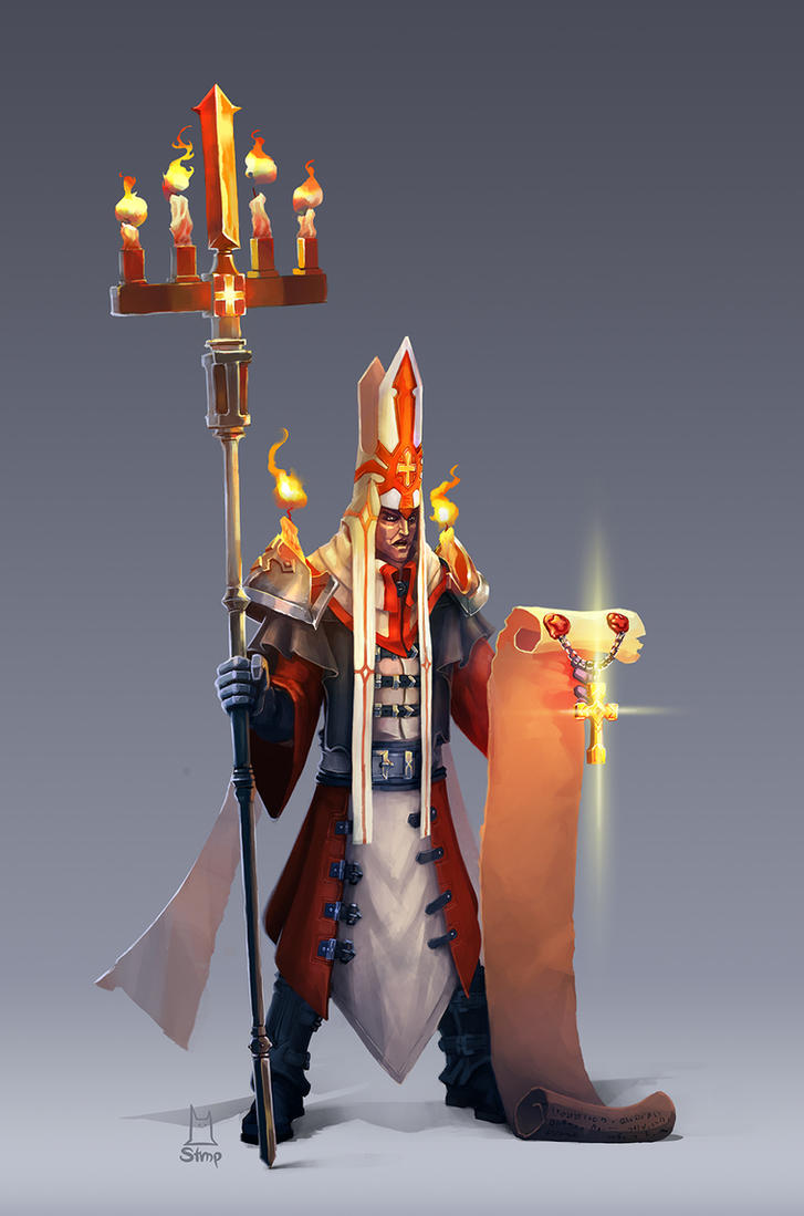 Teh Inquisitor by TopotoonPun