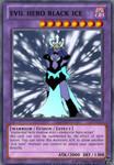 Evil hero black ice