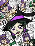 MAGI OCs Iris Aisha Concept drawings by missjumpcity