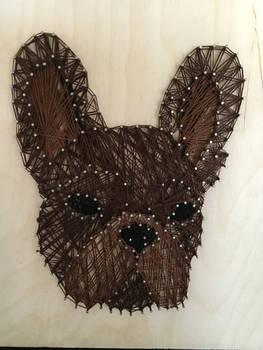 French bulldog String Art