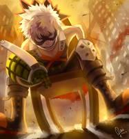 Boku no Hero Academia by raflael