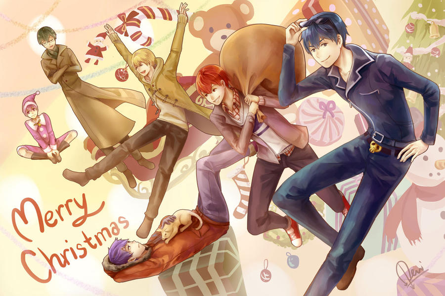 FA - Osomatsu-san Christmas by raflael on DeviantArt