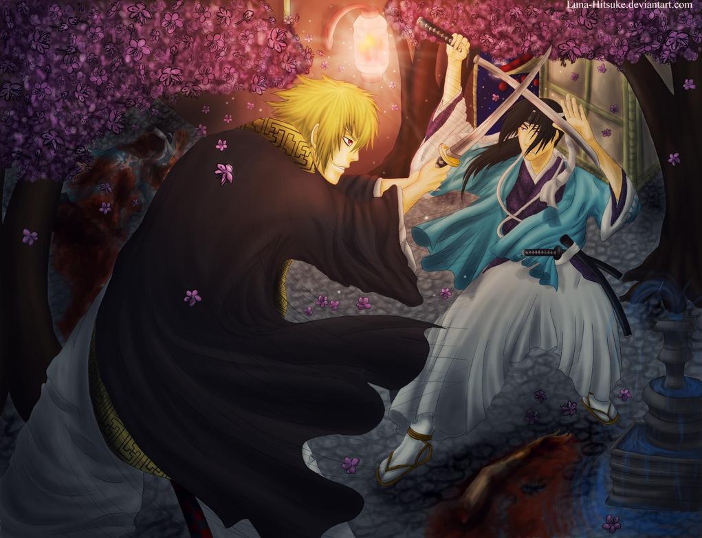 Hijikata Vs Kazama by Keto-Schneider
