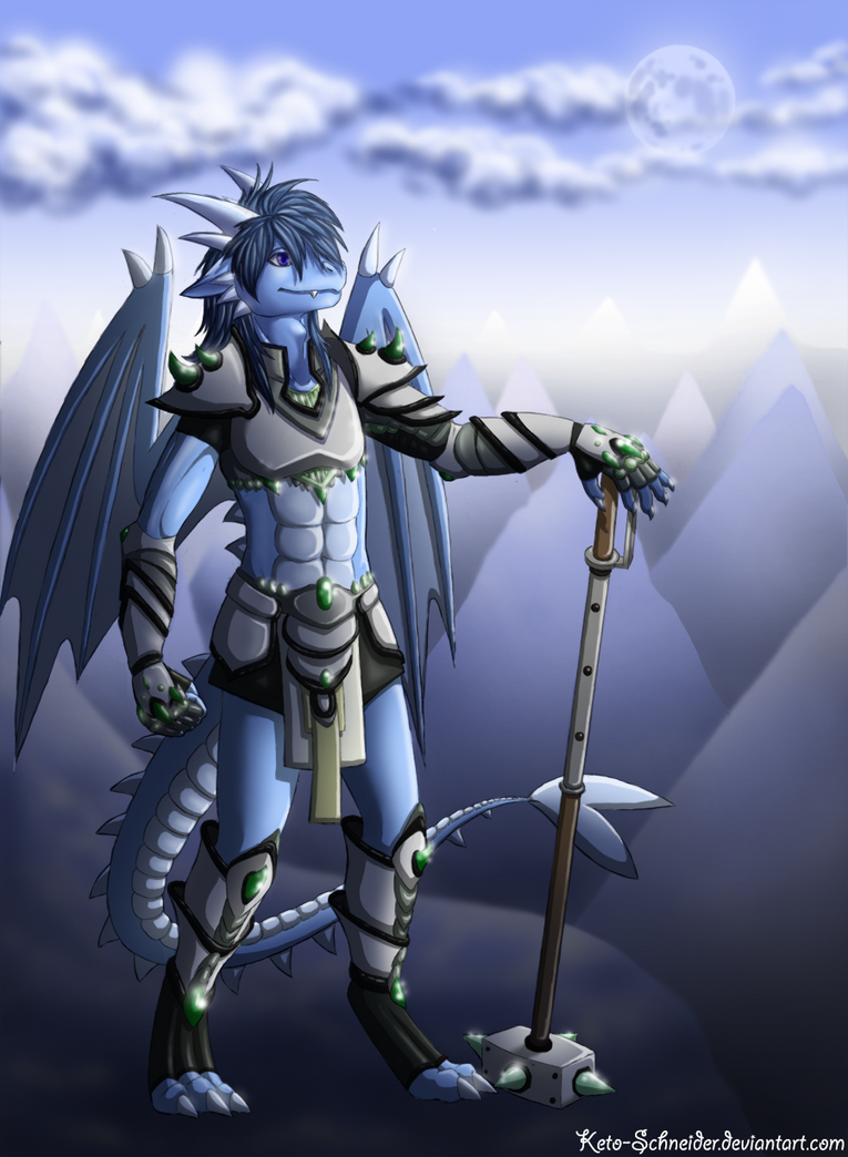 Commision - The dragon of the ice place reboot by Keto-Schneider