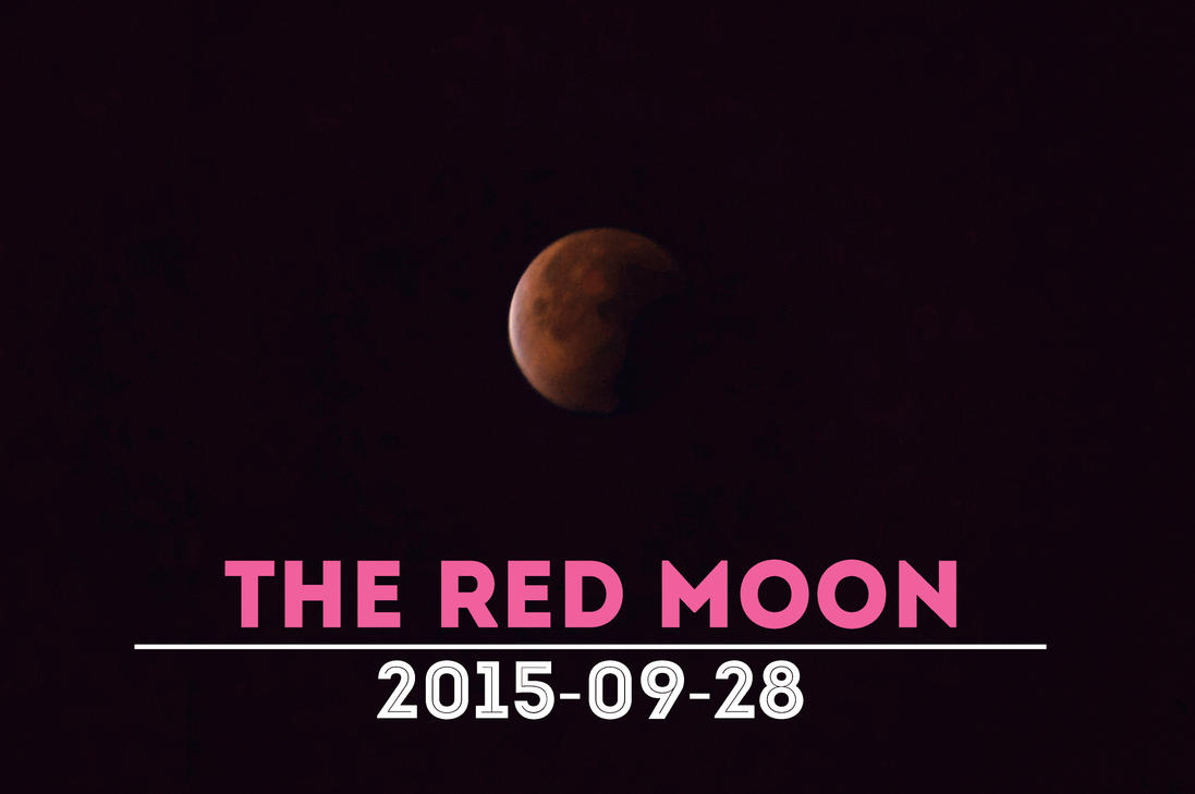 The Red Moon by eddef