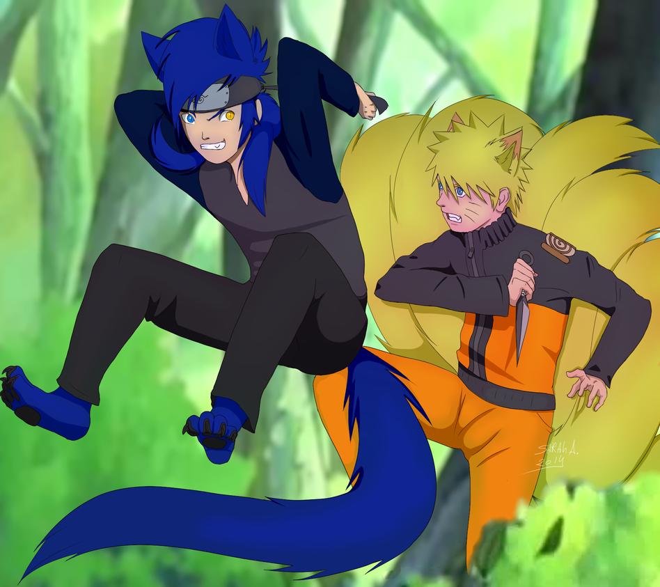 Ninjas foxes by SahGlam29
