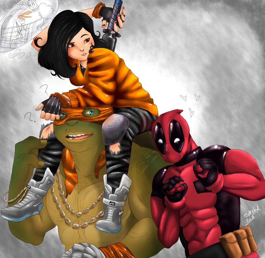 Hi Deadpool by SahGlam29