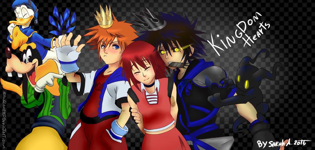 Kingdom Hearts by SahGlam29