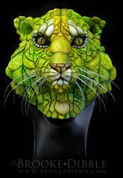 Amphibian Tiger sculpture by BrookeDibble
