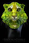 Amphibian Tiger sculpture