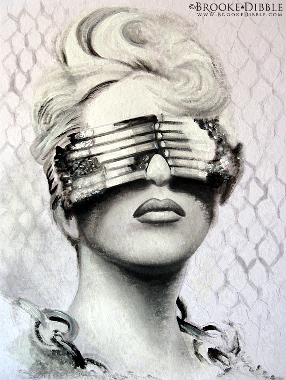 25thMay2010 Quick GaGa oils by BrookeDibble