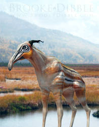 Painted Marsh Ungulate by BrookeDibble