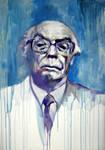 Portrait of Saramago