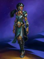 Armored Princess Jasmine for Sinfonie Cosplay by ZFischerillustrator