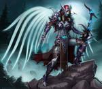 Angel of Undeath Sylvanas design