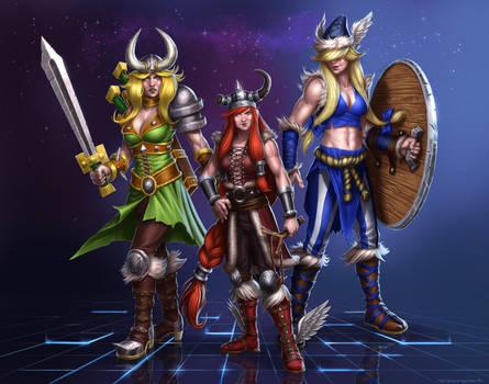 Genderbend Lost Vikings