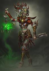 Diablo II Witch Doctor