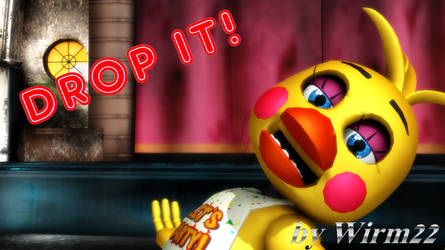[MMD FNAF] ToyChica - Drop it! - Smashing!