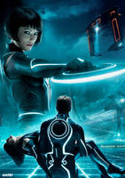 TRON: Legacy Quorra special