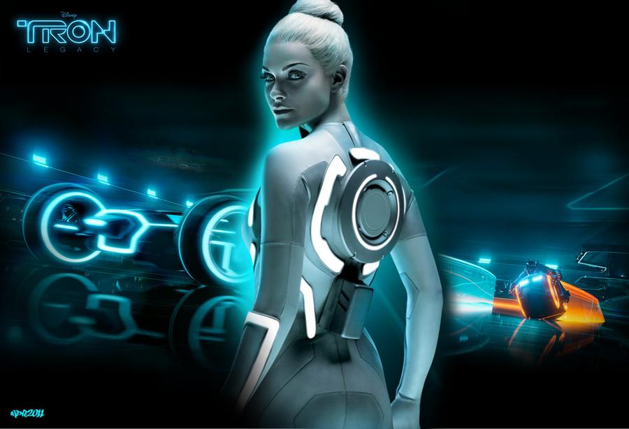 siren in tron legacy - photo #16