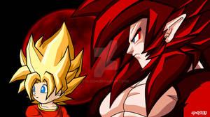 Dragon Ball GT - Goku and Pan
